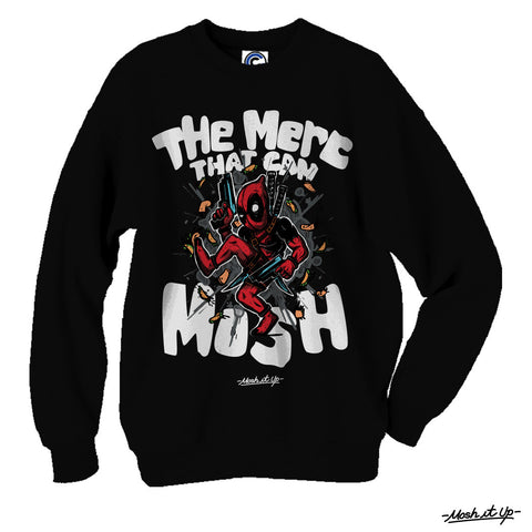"""The Merc That Can Mosh"" Crewneck"