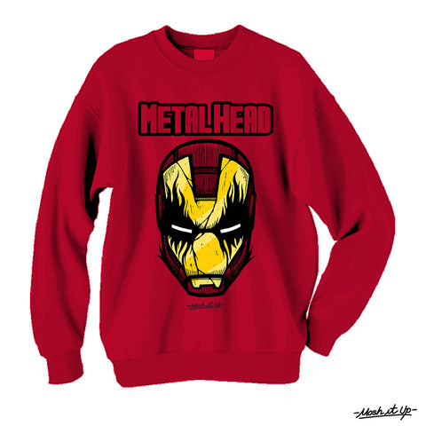 """Metal Head"" Crewneck"