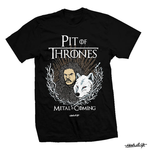 """Pit Of Thrones"" Tee"
