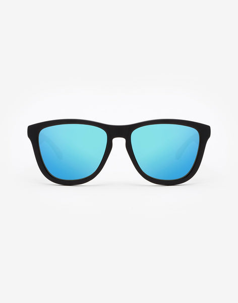 Polarized Carbon Black · Clear Blue One