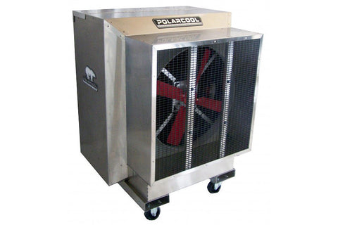 "PolarCool Fan - 24"" Direct Drive Variable Speed Stainless"