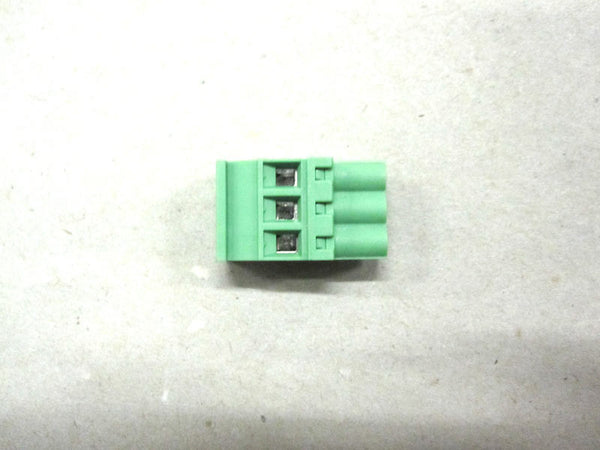 Terminal Block- Green 3 Position