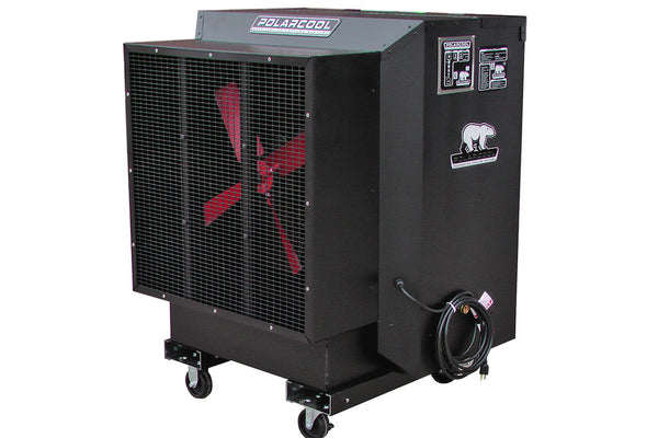 "PolarCool Fan - 24"" Direct Drive Variable Speed Powder Coated"