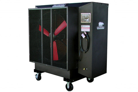 "PolarCool Fan - 36"" Direct Drive Variable Speed Powder Coated"