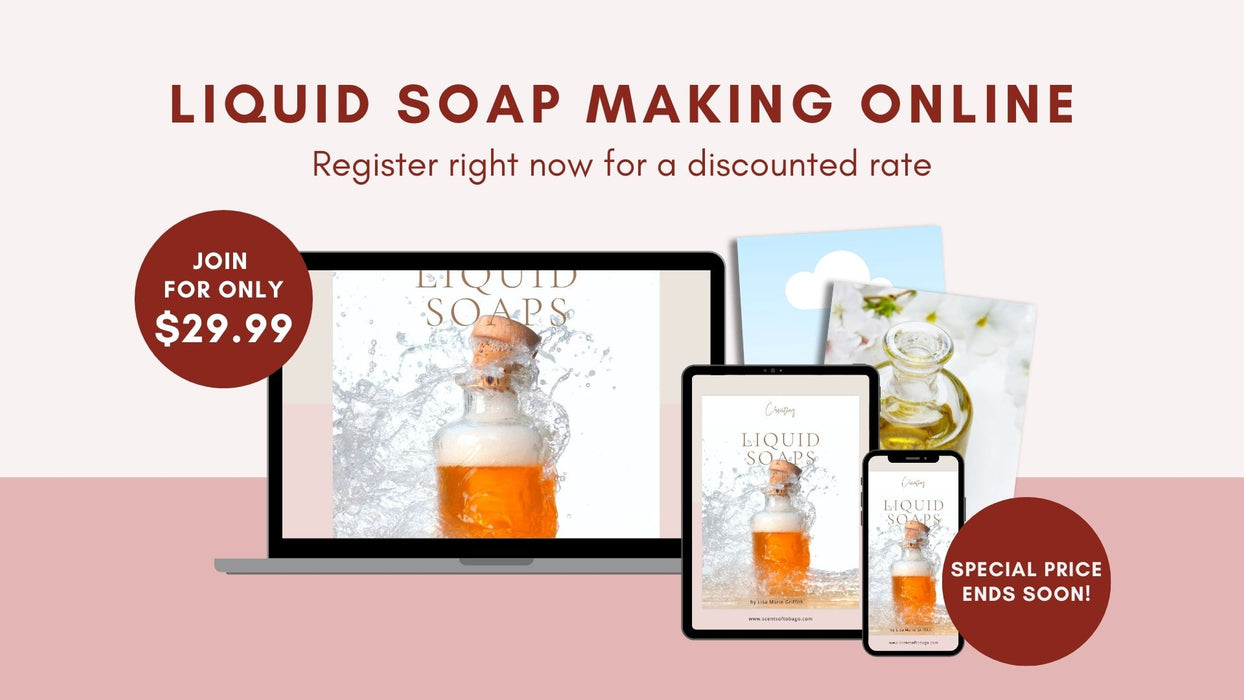 Liquid Soap Making Online: A complete course