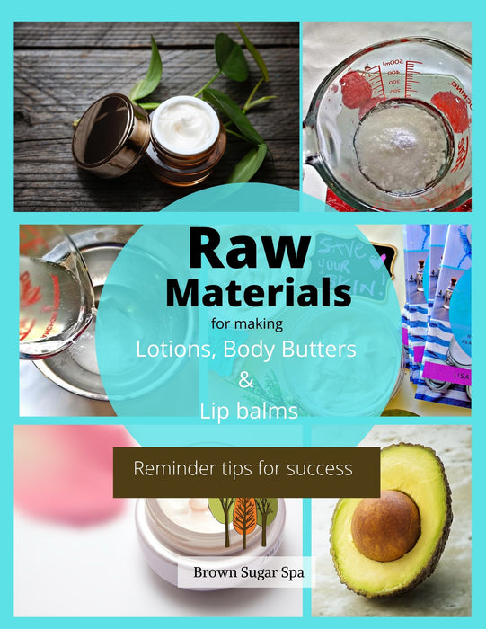 Reminder tips for success with lotions and body butters