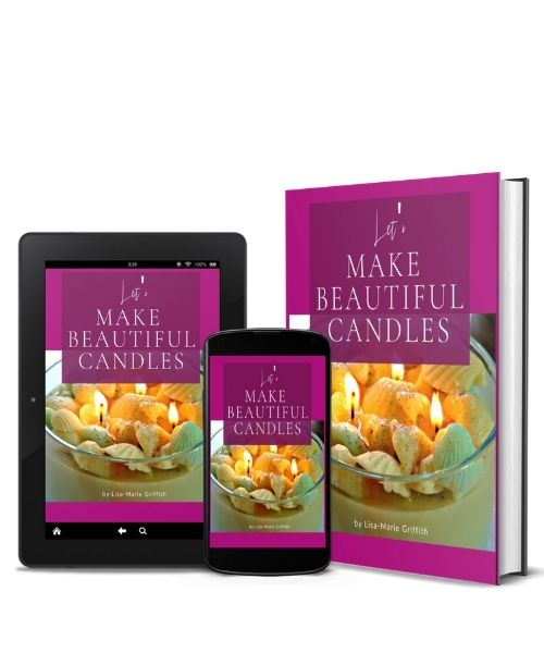 Let's make beautiful candles- E-book