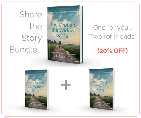 Share the Story Bundle (1 Hardcover + 2 Paperback)