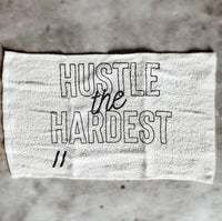 Hustle The Hardest Sweat Towel