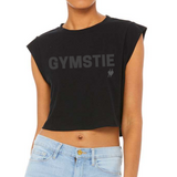 "Gymstie ""Chrome"" Crop Top"