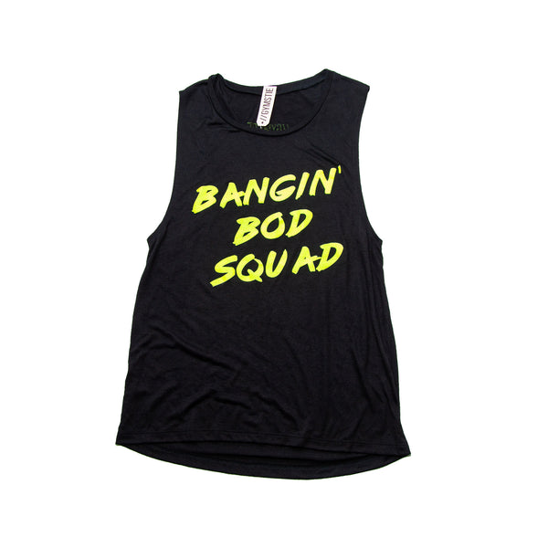 """Bangin Bod Squad"" Muscle Tank Top"