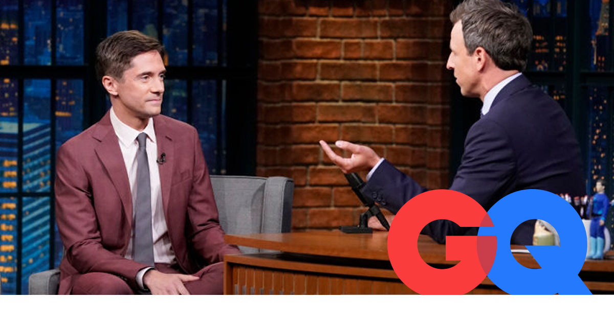Topher Grace makes GQ's 10 Best-Dressed Men of the Week