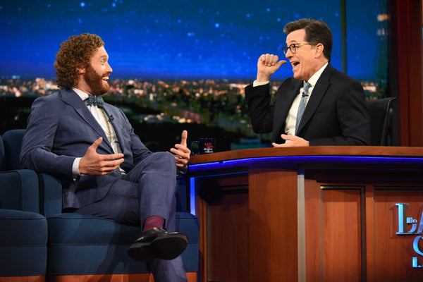 TJ Miller in Strong Suit on The Late Show with Stephen Colbert