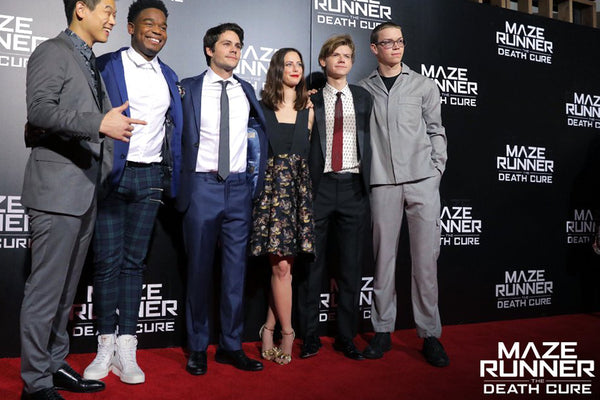 Maze Runner's Dylan O'Brien in Strong Suit