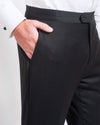 Formal Black Tuxedo Trouser