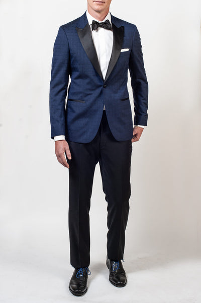 Aston Blue Novelty Dinner Jacket