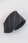 Grey Stripe Necktie