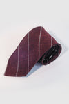 Oxblood Stripe Necktie