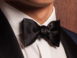 Black Formal Bowtie