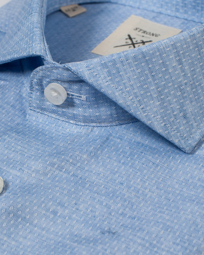 Espirit Lt Blue Tonal Dot Shirt