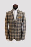 Volante Grey Flannel Plaid Sportcoat