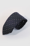 Navy with Geo Necktie