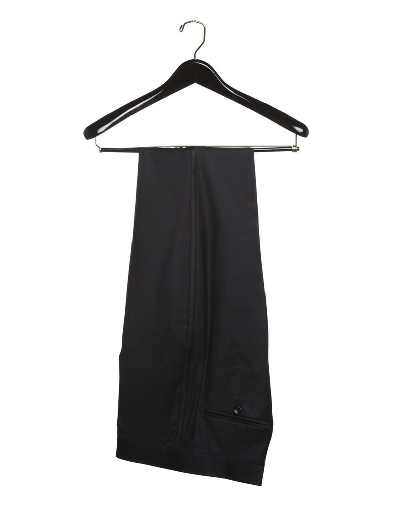 Strong Suit Aston Black Tuxedo Trousers