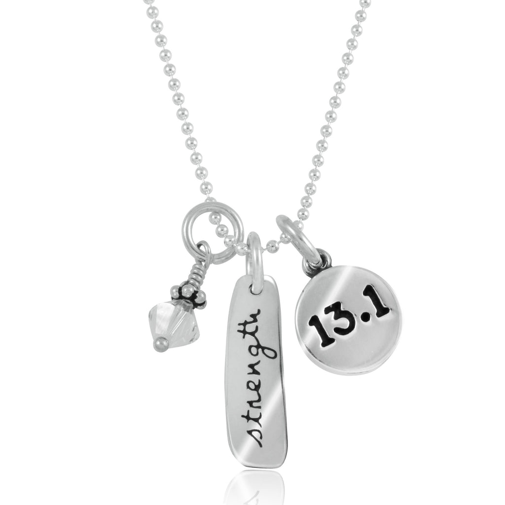 13.1 Strength Charm Trio Necklace