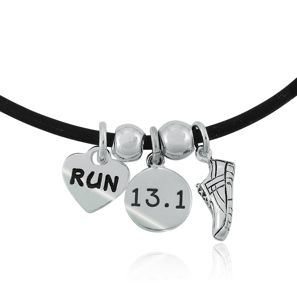 13.1 Love To Run Charm Trio Necklace