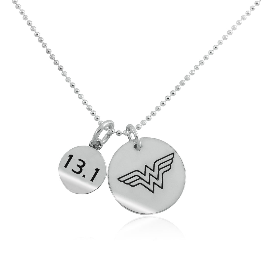 13.1 Wonder Woman Charm Duo Necklace