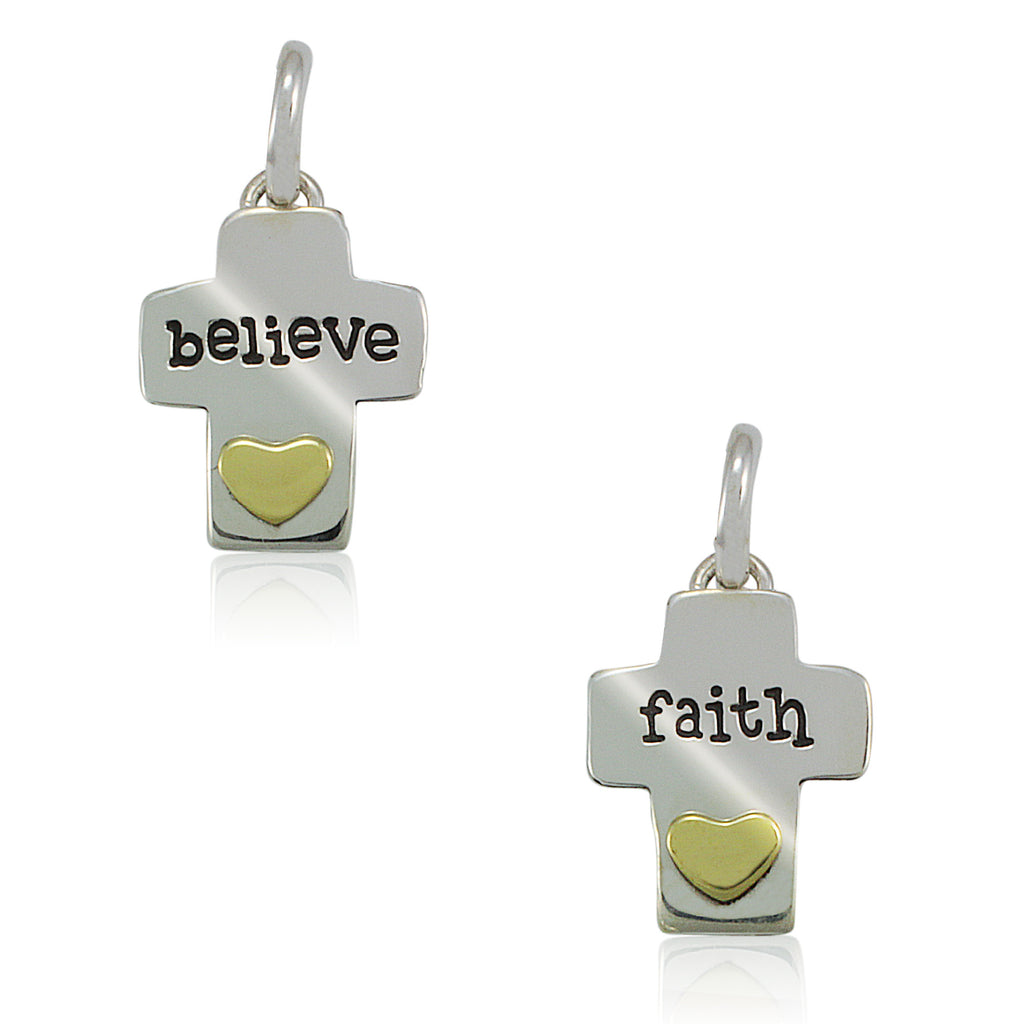 Believe & Faith Crosses