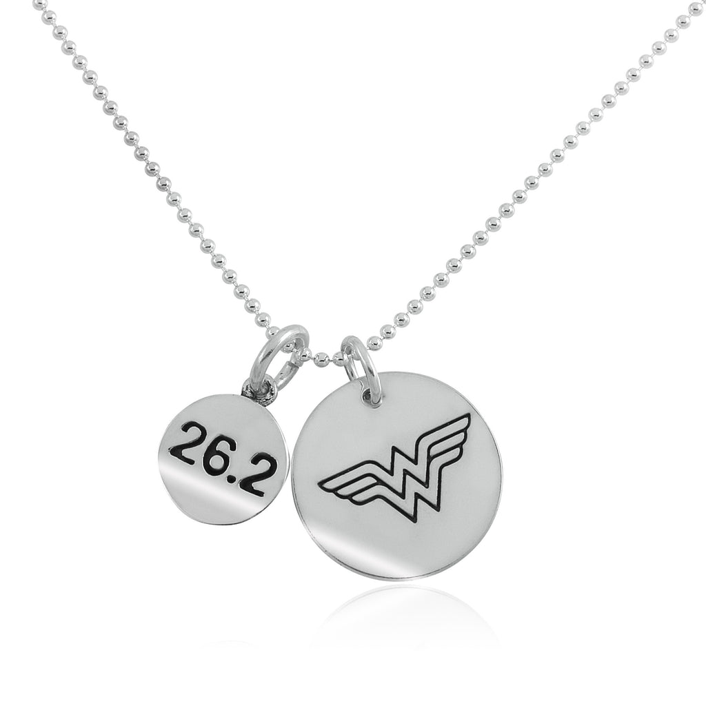 26.2 Wonder Woman Charm Duo Necklace