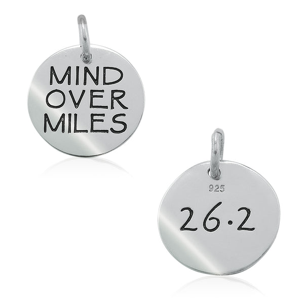 26.2 Mind Over Miles Double-Sided Charm