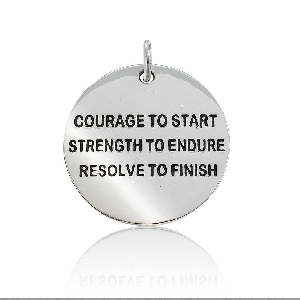 Courage To Start Pendant