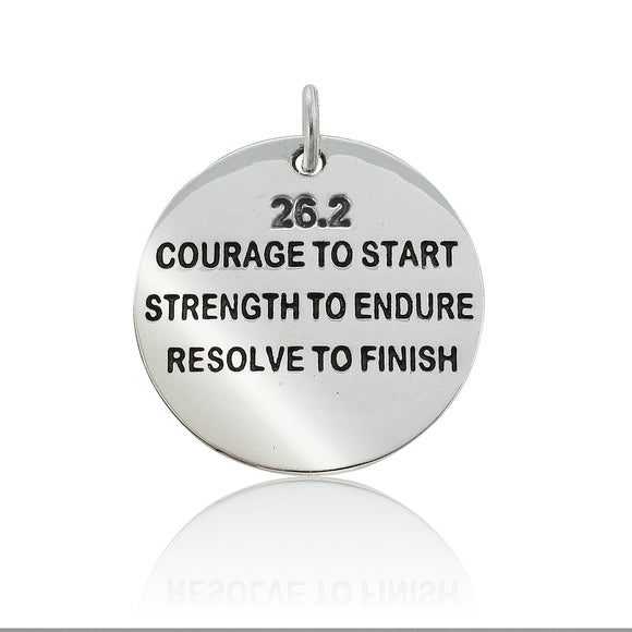 26.2 Courage To Start Pendant
