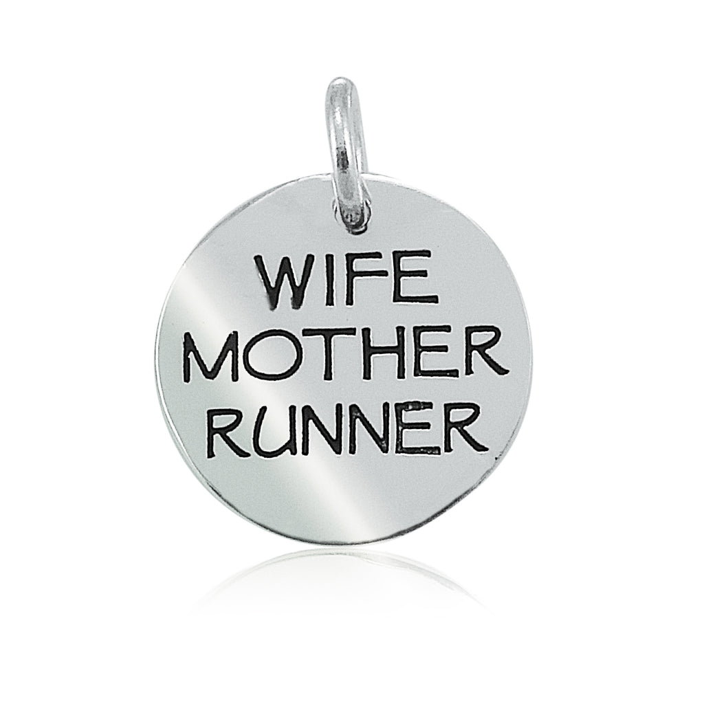 Wife Mother Runner Charm