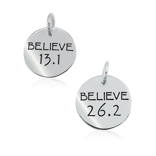 13.1 & 26.2 Believe Charms