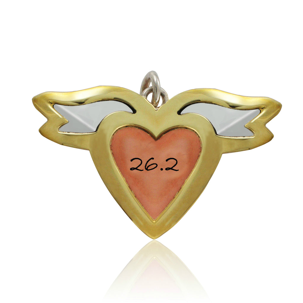 26.2 Heart With Wings Pendant