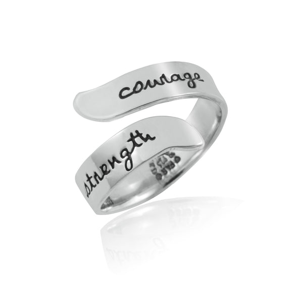 Courage Strength Ring