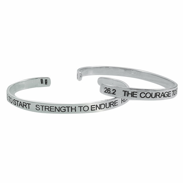 26.2 Courage To Start Cuff Bracelet