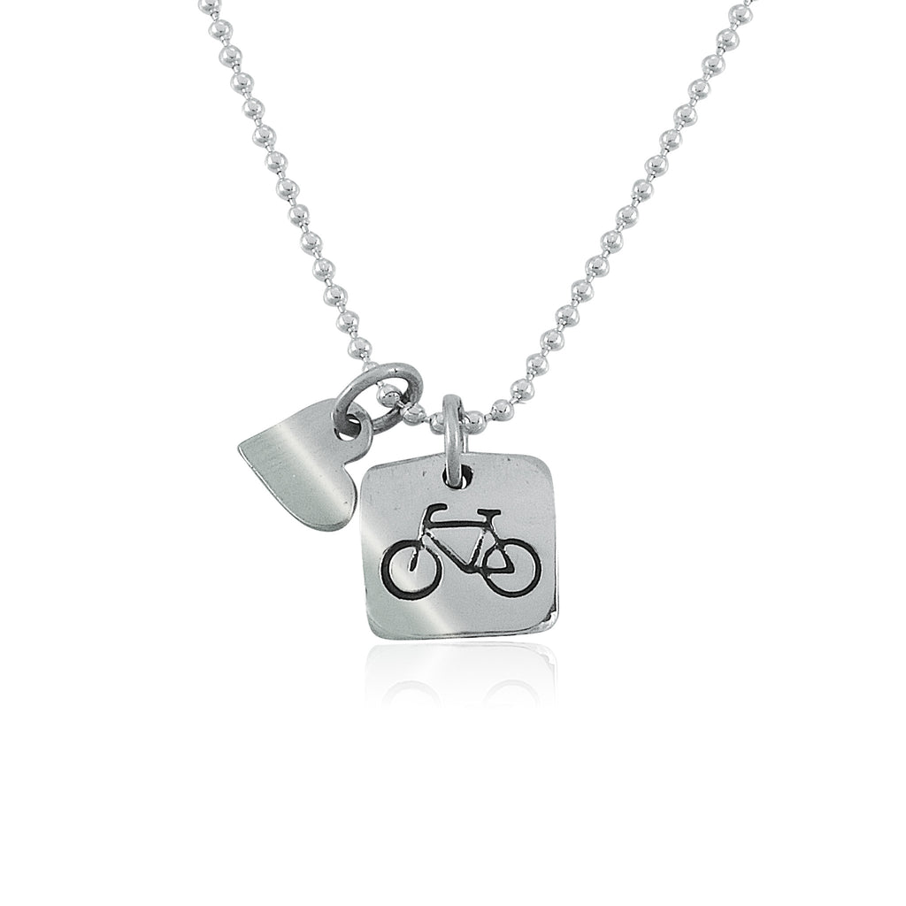 Love To Ride Charm Duo Necklace