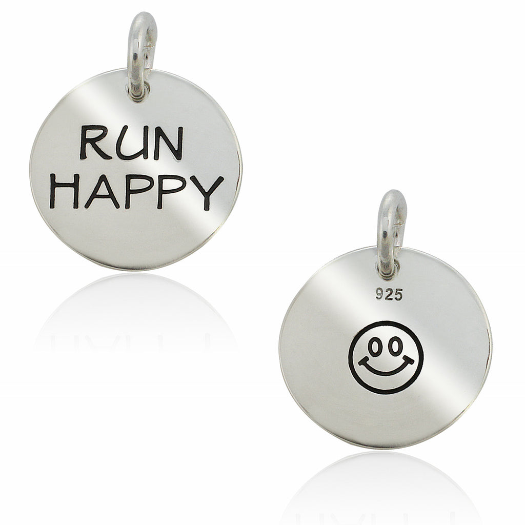 Run Happy Double-Sided Charm