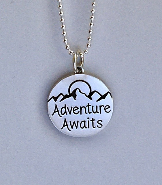 Adventure Awaits Charm