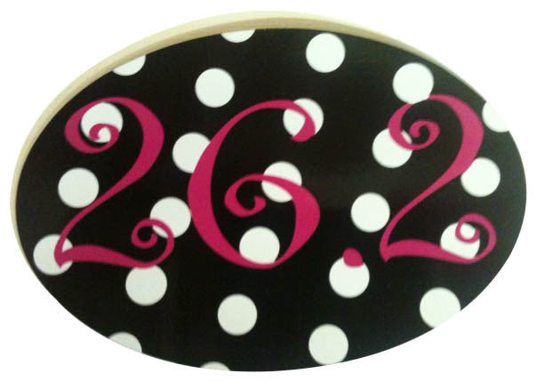 26.2 Black Polka Dot Magnet