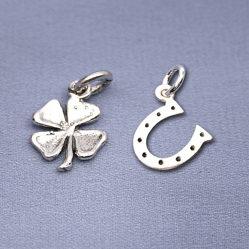 Clover & Horseshoe Charms
