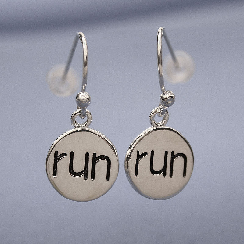 Run Earrings
