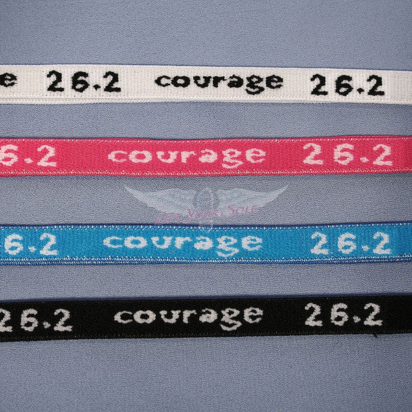 26.2 Courage Skinny Headbands
