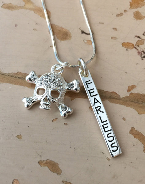 Fearless Charm Duo Necklace