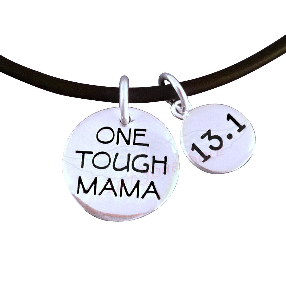 13.1 One Tough Mama Charm Duo Necklace