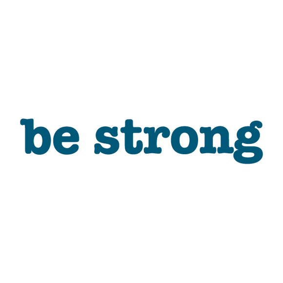 Be Strong Temporary Tattoo 2 pk